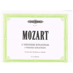 Mozart. 6 Sonatinas...