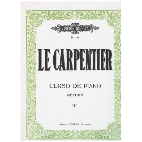 Le Carpentier. Curso de Piano Vol.3. Boileau