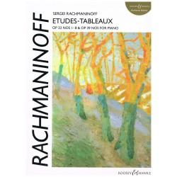 Rachmaninoff. Estudios...