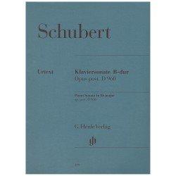 Schubert. Sonata Op....