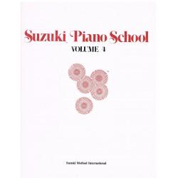 Suzuki Piano School Vol.4....