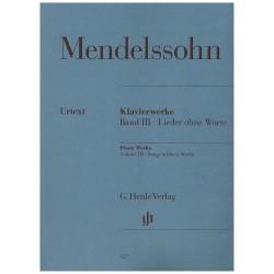 Mendelssohn. Romanzas sin...