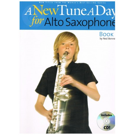 Bennet, Ned. A New Tune a Day for Alto Saxophone Book 1 +CD. Boston Music