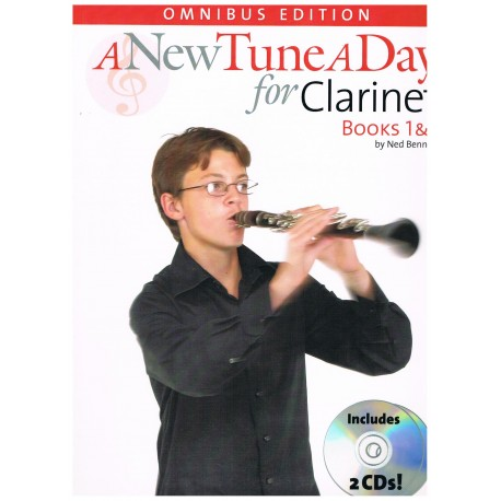 Bennett, Ned. A New Tune a Day for Clarinet Books 1&2 +2CDs. Boston Music