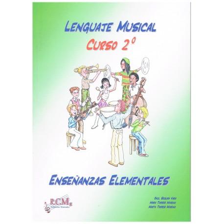Segura/Torres. Lenguaje Musical. Curso 2º Enseñanzas Elementales. RCM