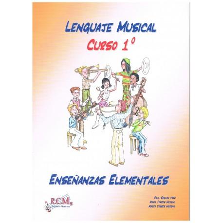 Segura/Torres. Lenguaje Musical. Curso 1º Enseñanzas Elementales. RCM