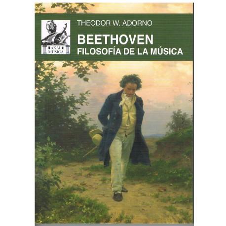 Adorno. Beethoven. Filosofía de la Música. Akal