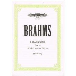 Brahms. Rapsodia Op.53....