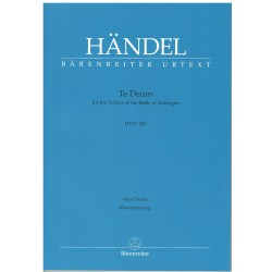 Haendel. Te Deum For The...