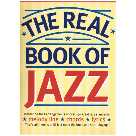 Varios. The Real Book of Jazz (Melody line+chords+lyrics). Wise