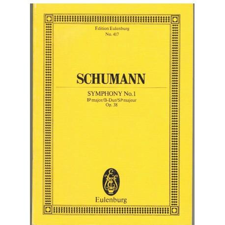 Schumann. Sinfonía Nº1 Sib Mayor Op.38 (Full Score Bolsillo). Eulenburg