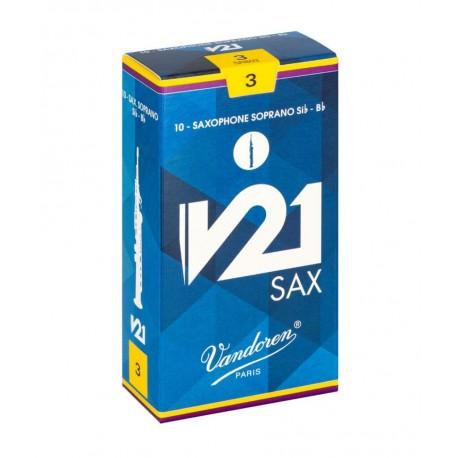 CAÑAS VANDOREN SAXO SOPRANO V-21 3,5