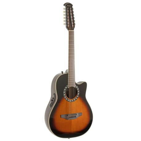 Ovation 2715LTD-VIP Guitarra electro-acustica Tobacco Sunburst