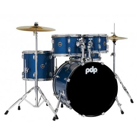 PDP by DW PDCE2015KTRB E-Drum Sets Centerstage Blue Sparkle