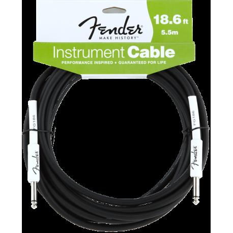Fender Fender® Performance Series Instrument Cable, 18.6', Black