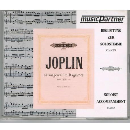 Joplin, Scott. 14 Ragtimes para Piano Vol.1 (1-7). Solo CD. Peters