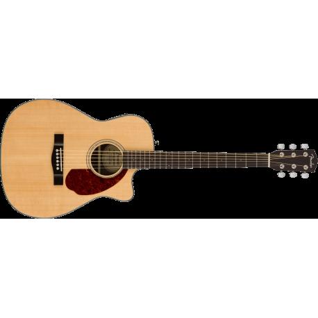 Fender CC-140SCE Concert, Walnut Fingerboard, Natural w/case