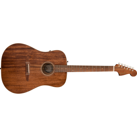 Fender Redondo Special with Bag, All Mahogany, Pau Ferro Fingerboard, Natural