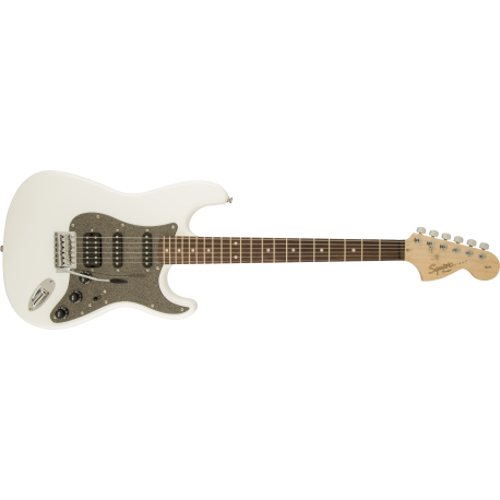 Squier Affinity Series™ Stratocaster® HSS, Laurel Fingerboard, Olympic White