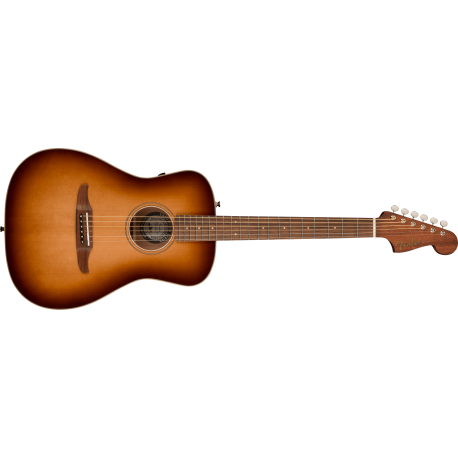 Fender Malibu Classic, Pau Ferro Fingerboard, Aged Cognac Burst