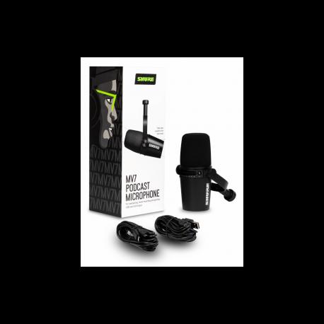 SHURE - Micrófonos - MOTIV MV7-K