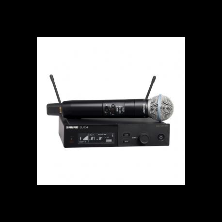 SHURE - Micrófonos Inalámbricos - Sistema SLX-D SLXD24E/B58 G59