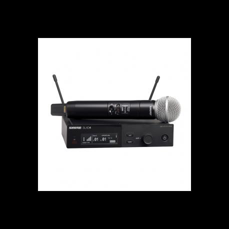 SHURE - Micrófonos Inalámbricos - Sistema SLX-D SLXD24E/SM58 G59
