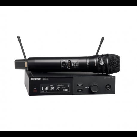 SHURE - Micrófonos Inalámbricos - Sistema SLX-D SLXD24E/K8B H56