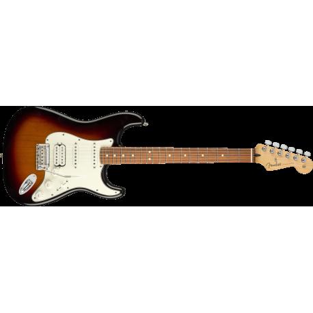 Fender Player Stratocaster® HSS, Pau Ferro Fingerboard, 3-Color Sunburst
