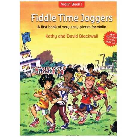 BLACKWELL. FIDDLE TIME JOGGERS+CD (VIOLÍN BOOK 1). OXFORD