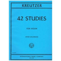 Kreutzer. 42 Estudios para...