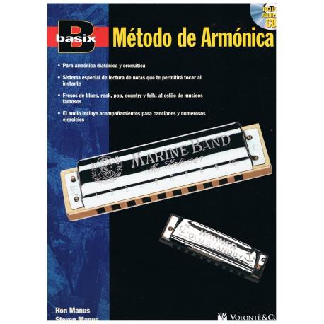 Manus. Basix Método de Armónica +CD. Volonté&Co