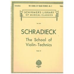 Schradieck. The School of...