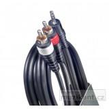 Cable Stagg Minijack/RCA 6 metros