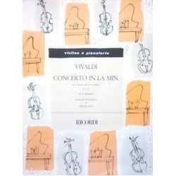 Vivaldi, Ant Concierto en La menor F.I Nº61 (2 Violines y Piano)
