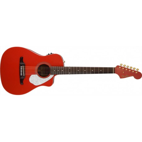 Fender Malibu CE Fiesta Red
