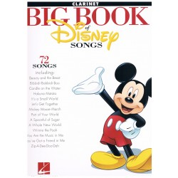 DISNEY. BIG BOOK 72 CANCIONES CLARINETE