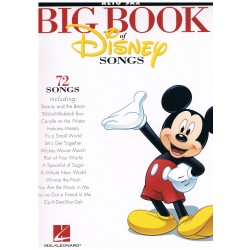 DISNEY. BIG BOOK 72 CANCIONES SAXO ALTO