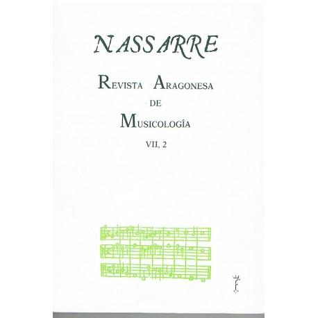 Nassarre. Revista Aragonesa de Musicología (1991)