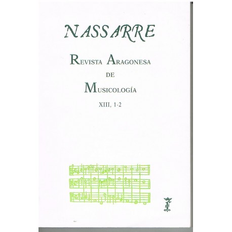 Nassarre. Revista Aragonesa de Musicología (1997)