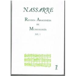 Nasarre. Revista Aragonesa de Musicología (1998)