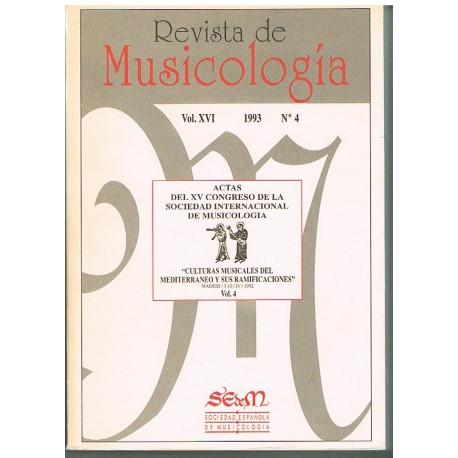 Revista de Musicología Vol.16 (1993 nº4)