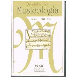 Revista de Musicología Vol.17 (1994 nº1-2)