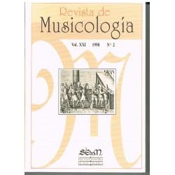 Revista de Musicología Vol.21 (1998 nº1)
