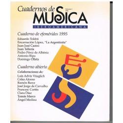 Cuadernos de Música Iberoamericana Vol.1 (1996)