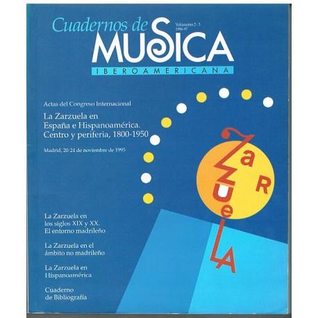 Varios. Cuadernos de Música Iberoamericana Vol.2-3 (1996-1997). SGAE