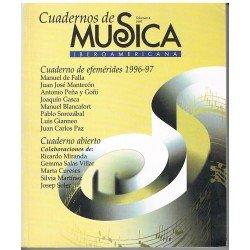 Cuadernos de Música Iberoamericana Vol.4 (1997)