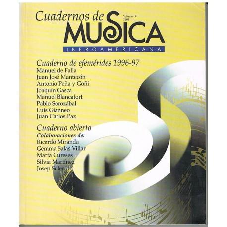 Varios. Cuadernos de Música Iberoamericana Vol.4 (1997). SGAE