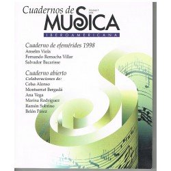 Cuadernos de Música Iberoamericana Vol.5 (1998)