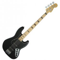 Fender American Elite Jazz Bass Black, Mapled